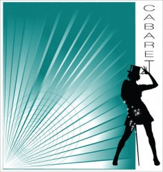 cabaret vector image vector image