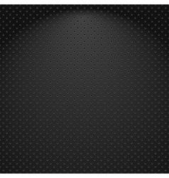Metallic textured background vector image