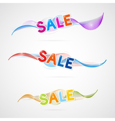 wave sale vector image vector image