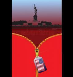 american image vector image vector image