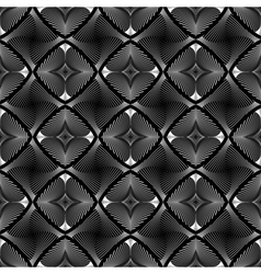 Design seamless diamond striped geometric pattern vector image vector image