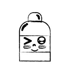 Figure kawaii cute funny ointment pharmaceutical vector