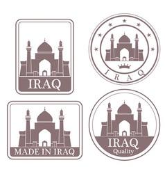 Iraq vector