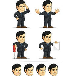 Businessman or Company Executive Customizable vector image vector image
