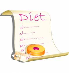 diet concept illustration vector image