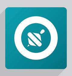 flat whirligig icon vector image