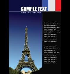 Flyer background vector