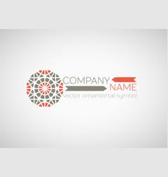 Ornamental symbol vector