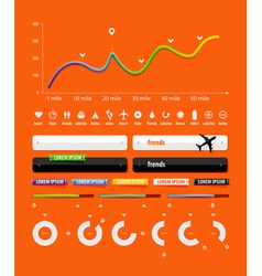 Transport infographics vector
