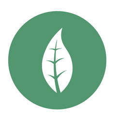 abstract earth symbol on a circle vector image
