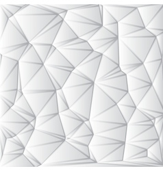 Abstract White Geometrical Background vector image