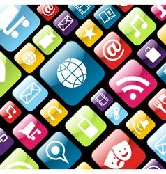 App icon background vector