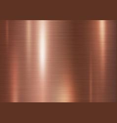 Copper metal texture background vector