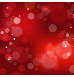 Festive background with bokeh defocused lights vector image