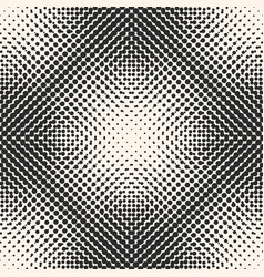 halftone seamless pattern dots in square form vector image vector image