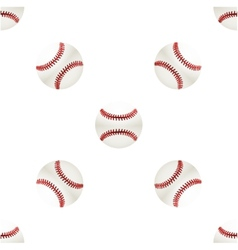 Universal baseball seamless patterns tiling vector image