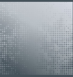 with four halftone patterns vector image vector image