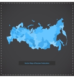 dark background of Russian vector image
