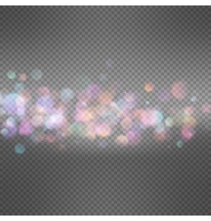 Blurry abstract bokeh EPS 10 vector image