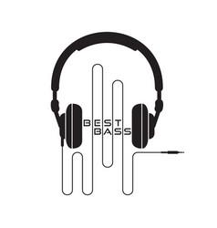 Headphone icon sign vector