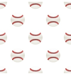 Universal baseball seamless patterns tiling vector