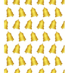 Ringing bell pattern vector image