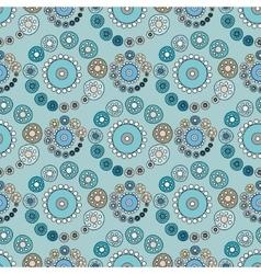 Bright blue seamless pattern vector