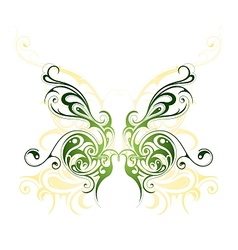 Butterfly tattoo design vector