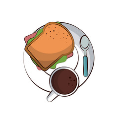 food related image vector image