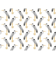 pattern of Heron vector image vector image