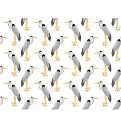 Pattern of heron vector
