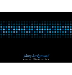 Bright shiny lights background vector image