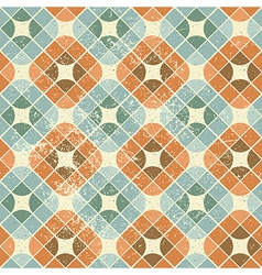 Vintage decorative seamless pattern geometric vector
