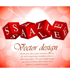 Sale background vector