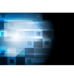 Bright blue elegant technical background vector image vector image