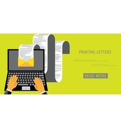 Typing web icon vector