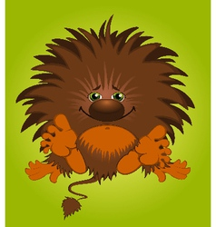 Funny little monster vector image vector image