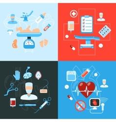 Surgery medical icons design concept vector