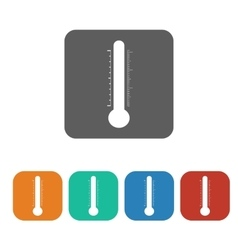 temperature icon vector image