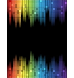 Equalizer template vector image
