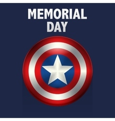 memorial day usa vector image