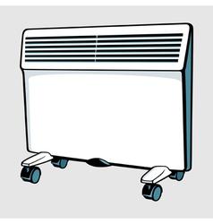 Con heater vector image vector image