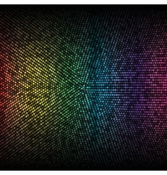 Disco lights background vector image