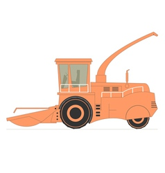 Forage Harvester vector image vector image
