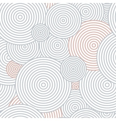Pattern of circles vector