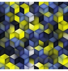 Seamless multicolor blue yellow gradient vector