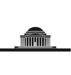 The jefferson monument vector