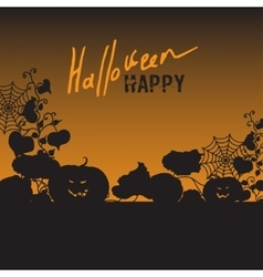 Background with Halloween vector image