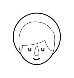 Cartoon cute baby jesus christ christmas image vector