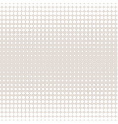 halftone circles pattern different sized dots vector image vector image